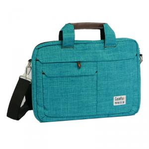 P-151030B-14 Vogue Brief Notebook Bag (TURKISH BLUE)