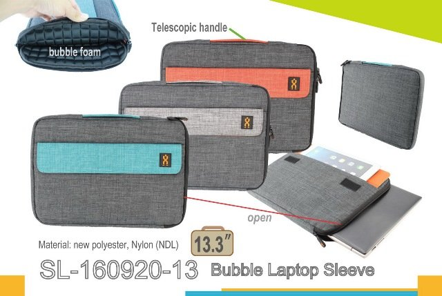 SL-160920-13 Bubbled Laptop Sleeves 13.3""