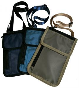 P-198528 Safe body hanging neck pouch